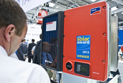 SMA Intersolar Award Sunny Boy Smart Energy