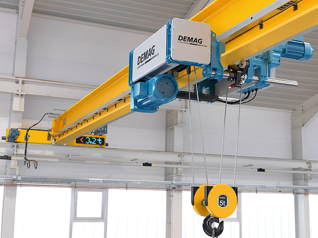 Modul rn lanov kladkostroj demag dmr technika a trh - Terex material handling port solutions ag ...
