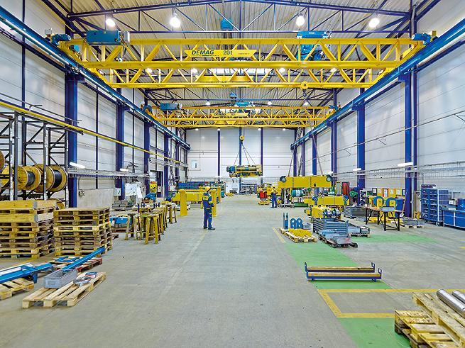 Dal krok je b demag v typ do 50 t technika a trh - Terex material handling port solutions ag ...